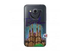 Coque Samsung Galaxy Core Prime I Love Barcelona