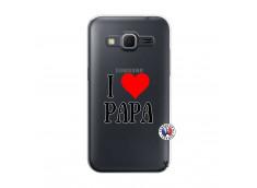 Coque Samsung Galaxy Core Prime I Love Papa