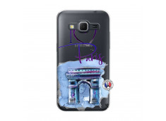 Coque Samsung Galaxy Core Prime I Love Paris Arc Triomphe