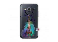 Coque Samsung Galaxy Core Prime I Love Paris