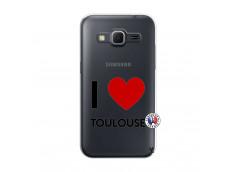 Coque Samsung Galaxy Core Prime I Love Toulouse