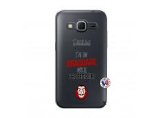 Coque Samsung Galaxy Core Prime J Peux Pas J Ai Un Braquage Avec Le Professeur