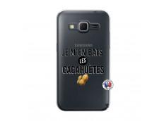 Coque Samsung Galaxy Core Prime Je M En Bas Les Cacahuetes