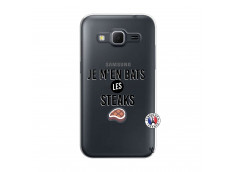 Coque Samsung Galaxy Core Prime Je M En Bas Les Steaks