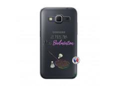 Coque Samsung Galaxy Core Prime Je Peux Pas J Ai Badminton