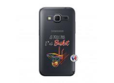 Coque Samsung Galaxy Core Prime Je Peux Pas J Ai Basket