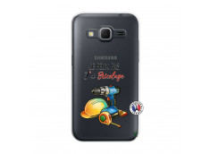 Coque Samsung Galaxy Core Prime Je Peux Pas J Ai Bricolage