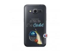 Coque Samsung Galaxy Core Prime Je peux pas j'ai cricket