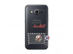 Coque Samsung Galaxy Core Prime Je peux pas j'ai Handball