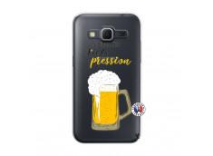 Coque Samsung Galaxy Core Prime Je peux pas J'ai la Pression