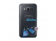Coque Samsung Galaxy Core Prime Je Peux Pas J Ai Natation