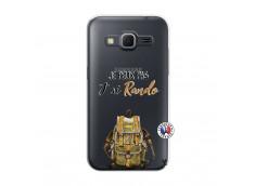 Coque Samsung Galaxy Core Prime Je Peux Pas J Ai Rando