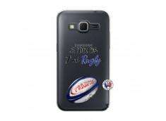 Coque Samsung Galaxy Core Prime Je Peux Pas J Ai Rugby