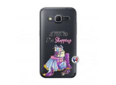 Coque Samsung Galaxy Core Prime Je Peux Pas J Ai Shopping