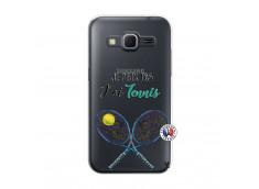Coque Samsung Galaxy Core Prime Je Peux Pas J Ai Tennis