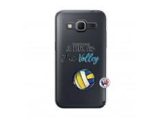 Coque Samsung Galaxy Core Prime Je Peux Pas J Ai Volley