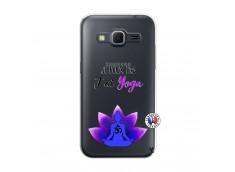 Coque Samsung Galaxy Core Prime Je Peux Pas J Ai Yoga