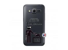 Coque Samsung Galaxy Core Prime Je Peux Pas Je Suis Veterinaire