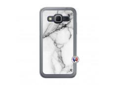 Coque Samsung Galaxy Core Prime White Marble Translu
