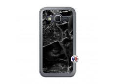 Coque Samsung Galaxy Core Prime Black Marble Translu