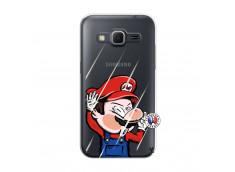 Coque Samsung Galaxy Core Prime Mario Impact