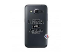 Coque Samsung Galaxy Core Prime Oh Putain C Est L Heure De L Apero