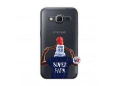 Coque Samsung Galaxy Core Prime Papa Super Heros