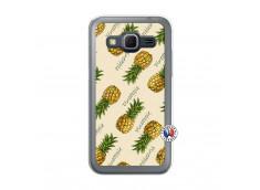 Coque Samsung Galaxy Core Prime Sorbet Ananas Translu
