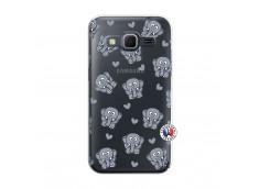 Coque Samsung Galaxy Core Prime Petits Elephants