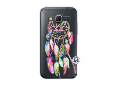 Coque Samsung Galaxy Core Prime Pink Painted Dreamcatcher
