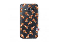 Coque Samsung Galaxy Core Prime Petits Poissons Clown