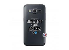 Coque Samsung Galaxy Core Prime Rien A Foot Allez Bruges