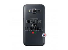 Coque Samsung Galaxy Core Prime Rien A Foot Allez Le Portugal