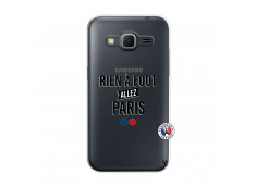 Coque Samsung Galaxy Core Prime Rien A Foot Allez Paris