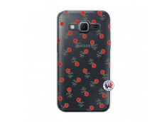 Coque Samsung Galaxy Core Prime Rose Pattern