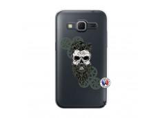 Coque Samsung Galaxy Core Prime Skull Hipster