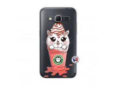 Coque Samsung Galaxy Core Prime Catpucino Ice Cream