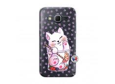 Coque Samsung Galaxy Core Prime Smoothie Cat
