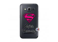 Coque Samsung Galaxy Core Prime Super Maman