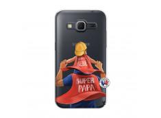 Coque Samsung Galaxy Core Prime Super Papa et Super Bébé