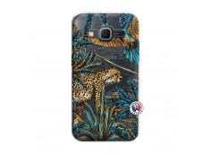 Coque Samsung Galaxy Core Prime Leopard Jungle