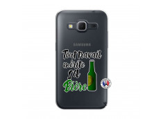 Coque Samsung Galaxy Core Prime Tout Travail Merite Sa Biere