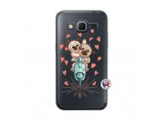 Coque Samsung Galaxy Core Prime Puppies Love