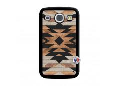 Coque Samsung Galaxy Core Aztec Noir