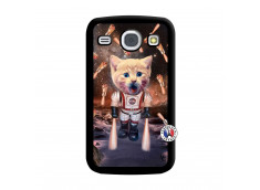 Coque Samsung Galaxy Core Cat Nasa Noir