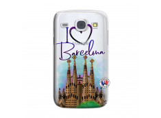 Coque Samsung Galaxy Core I Love Barcelona