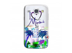 Coque Samsung Galaxy Core I Love Miami