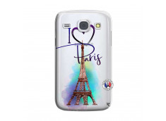 Coque Samsung Galaxy Core I Love Paris