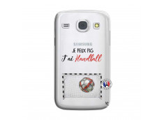 Coque Samsung Galaxy Core Je peux pas j'ai Handball