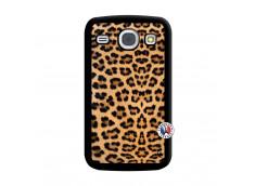 Coque Samsung Galaxy Core Leopard Style Noir